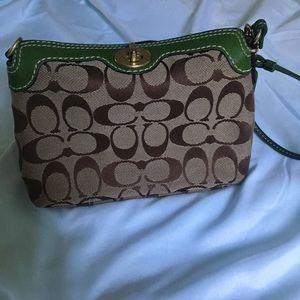 Coach wristlet / handbag vintage